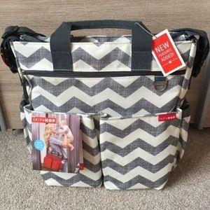 Skip Hop Diaper Bag In Chevron